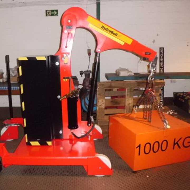 Hydrobull Lastprüfung HB800 GS 270 Fapo