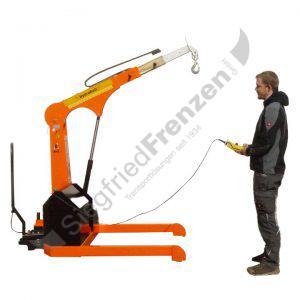 Elektrobull HB1000B17FaPo mit Bediener
