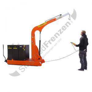 Elektrobull HB2000GKB19FaPo mit Bediener