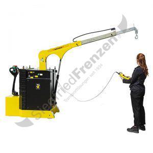 Elektrobull HB500GKBRP mit Bediener