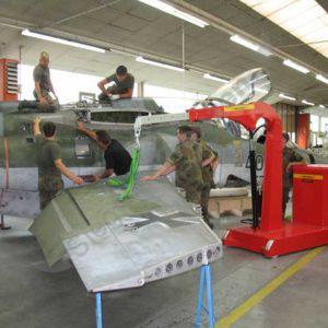 Hydrobull HB2000GKFaPo Einsatz Aerospace