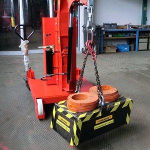 Hydrobull HB500GS dynamische Lastprüfung