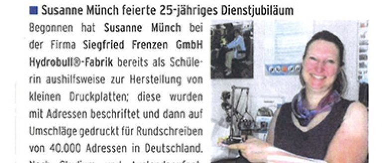 Hydrobull 25-jähriges Jubiläum Münch
