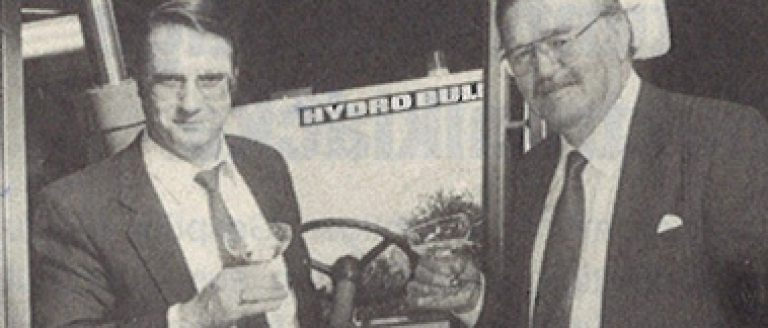 Hydrobull Senior und Junior feiern