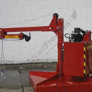 Sonderkran Hydrobull HB400GS eingefahren